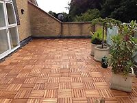 Wooden Decking Tiles - new in packaging