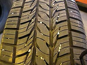 complete set of 4 brand new allseason tires used only 2 week 99%