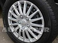15 inch Wheel Trims Universal x 4 fits all 15 Inch Wheels.