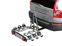 Unused BnB Explorer Towball Mounted Tilting 3 Bike Cycle Carrier