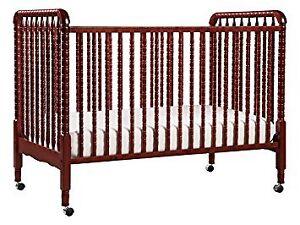 Crib and mattress.