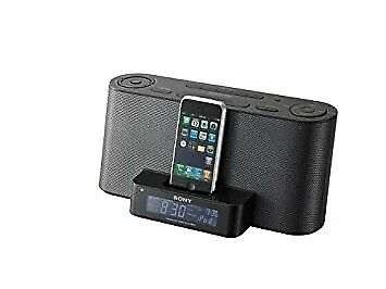 Sony ICF-C1IPMK2 Speaker Dock and Alarm Clock Radio with iPod Dock (Black) with remote