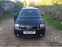 Audi A2, 1.6 Car. Need to sell as leaving country
