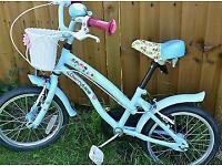 Girl's Cherry lane bike. Barley used.