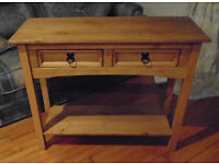 Corona 2-Drawer Console Table For Sale