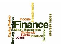 Finance, Risk, Accounting & Dissertations Tutor : Professional & Qualified CFA,ACCA