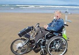 PowerTrike XTRA *PLUS* Wheelchair *PLUS* Bracket Docking Tube *PLUS* Extra Battery