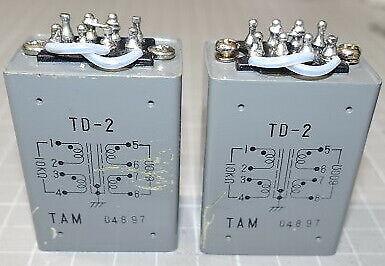 Tamura Matching Transformer Td-2 10K 600 Used Product Pieces Set