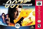 007: World Is Not Enough N64 Games
