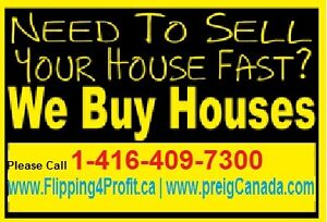 We buy houses FAST for CASH in Fort McMurray in Alberta