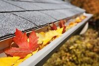 Gutter Cleaning - fall is here