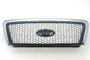 NEW 2006-2008 FORD F150 XLT CHROME GRILLE