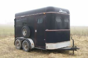 1996 Sundowner 2 horse trailer  Model - Charter