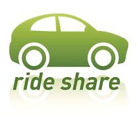 Rideshare from Windsor to Toronto on Wednesday ,January 18 @3 PM