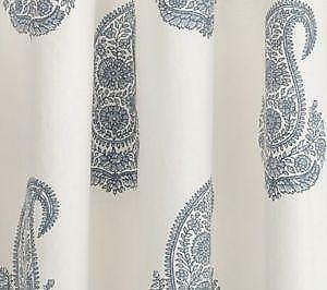 Pottery Barn Shower Curtains