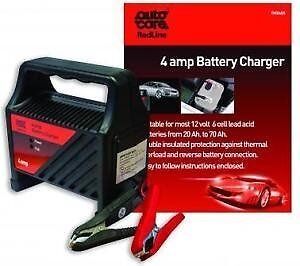 Autocare 4 amp 12v Battery Charger Suitable for 10Ah - 60AH Acid batteries