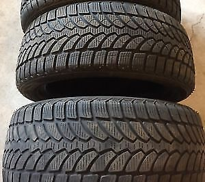 215/70R17	Bridgestone Blizzak 2 used winter tires 85%tread left