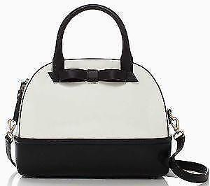 Kate Spade Handbag Black And White