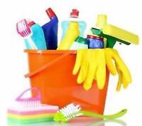 Entretien ménager résidentiel ou commercial