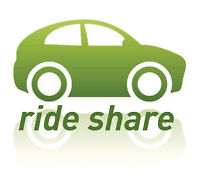 ☆☆☆☆☆ Rideshare Montreal to Ottawa roundtrip Monday to Friday