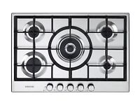 KENWOOD KHG705SS Gas Hob - Stainless Steel (RRP=£250)
