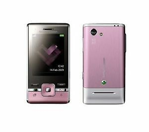 Sony Ericsson T715 Slider - Rouge Pink Cellular Phone