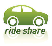 Every day rideshare  from Toronto to ottawa departure 5pm