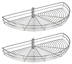 Wire Semi-circular Carousel Baskets