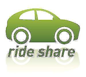 Offering rideshare Toronto, Mississauga to Ottawa Mon March 26