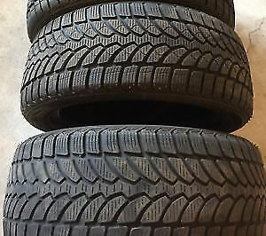 235/55R18	Bridgestone Blizzak 4 used winter tires 90%tread left