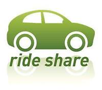 Ride Share Offer from Ottawa to Toronto-KWL-London