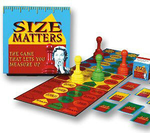 """BRAND NEW SEALED Party Board Game - """"Size Matters"""""""