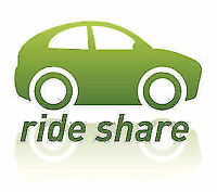 Rideshare barrie to Toronto Monday 4pm now
