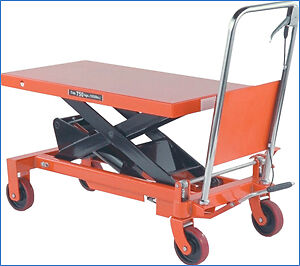 New Electric, Manual Lift Table lifting from 330lbs to 4000lbs