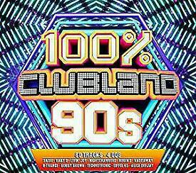 100% clubland 90s nineties 4 cd album NEW