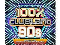 100% clubland 90s nineties 4 cd album NEW