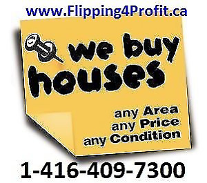 "NOTICE: We Buy Houses in St. Catharines ""as is"""