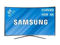 NEW SAMSUNG 65 Smart 4K Ultra HD HDR Curved LED Voice Control TV