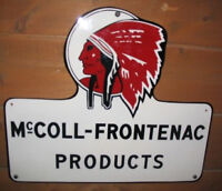 Buying McColl Frontenac Red indian, White rose, Buffalo Oil