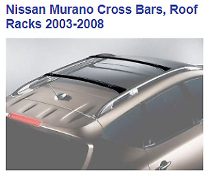 Nissan Murano Roof Rack Cross Bars