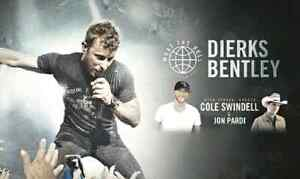 Floor Seats for Dierks at Bud Gardens