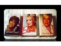 LOOSE WOMEN BIOGRAPHIES - (3) - HARDCOVER - FOR SALE