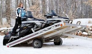 Wanted skidoo trailer