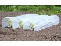 Pack of 3 plastic cloches