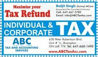TAX AND ACCOUNTING SERVICES/Experts