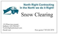 Seasonal Plowing, snowplowing, and shovelling