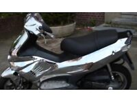 Gilera runner chrome panel set