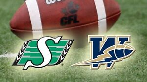 Up to 8 Tickets July 1st  Blue Bombers Roughriders Sold Out Game
