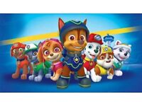 £190 for 4 x PAW PATROL TICKETS AMAZING SEATS BLOCK A BIRMINGHAM SAT 18TH AUGUST 1.30PM SHOW