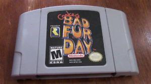 Conkers Bad Fur Day N64 Nintendo 64